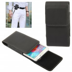 Vertical Flip Leather Case with Belt Clip for Samsung Galaxy S5 / G900(Black)