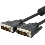 DVI 24+1P Male to DVI 24+1P Male Cable, Length: 1.5m