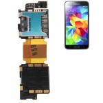 SIM Card Socket Flex Cable for Samsung Galaxy S5 / G900