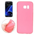 For Samsung Galaxy S7 / G930 0.3mm Ultrathin Translucent Color PP Protective Cover Case (Red)