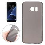 For Samsung Galaxy S7 Edge / G935 0.3mm Ultrathin Translucent Color PP Protective Cover Case (Black)