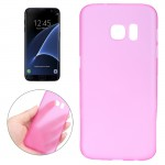 For Samsung Galaxy S7 Edge / G935 0.3mm Ultrathin Translucent Color PP Protective Cover Case (Magenta)