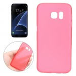 For Samsung Galaxy S7 Edge / G935 0.3mm Ultrathin Translucent Color PP Protective Cover Case (Red)