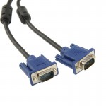 High Quality VGA 15Pin Male to VGA 15Pin Male Cable for LCD Monitor / Projector, Length: 1.8m