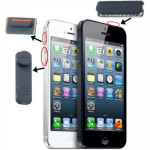 iPartsBuy 3 in 1 for iPhone 5 (Mute Button + Power Button + Volume Button)(Black)