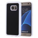 For Samsung Galaxy S7 / BG930 Anti-Gravity Magical Nano-suction Technology Sticky Selfie Protective Case(White)