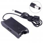 19.5V 3.34A 7.4 x 5.0mm Laptop Notebook Power Adapter Charger with Power Cable for Dell(Black)