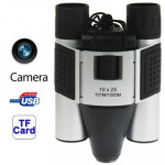 10×25mm 5 in 1 (Binocular Camera + Video Camera + Digital Camera + PC Cam + TF Card Reader) Digital Camera Binoculars, Field of