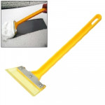 Automobile Supplies Car Snow Brush Snow Shovel Cleaning Scraper(Yellow)