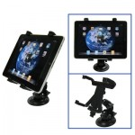 Support Holder noir pour iPad 4 3 / 2, iPad, mini 1/2/3 Samsung Galaxy TAB de de montage de voiture - Wewoo