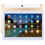 Tablette Tactile or 4G, Appel, 10 pouces, 2 Go + 32 Go, Android 5.1 MTK6592 Octa Core 1.3GHz, double SIM, GPS, OTG, avec étui...