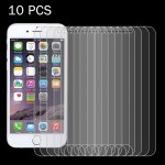 10 PCS For iPhone 7 0.26mm 9H Surface Hardness 2.5D Explosion-proof Tempered Glass Non-full Screen Film