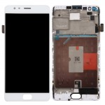 iPartsBuy for OnePlus 3T LCD Screen + Touch Screen Digitizer Assembly with Frame (White)
