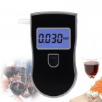 3 digitals LCD Display Breath Alcohol Tester Analyzer(Black)