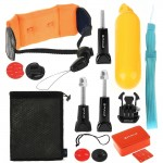 PULUZ 14 in 1 Surfing Accessories Combo Kit (Bobber Hand Grip + Floaty Sponge + Quick Release Buckle + Surf Board Mount + Floati