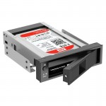 ORICO 1106SS CD-ROM Space HDD Mobile Rack Internal 3.5 inch HDD Convertor Enclosure(Black)