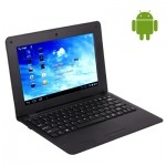 Ordinateur Portable Android 10,1 pouces 4.0 Notebook PC, CPU: VIA WM8880 Dual Core cadencé à 1,5 GHz Noir - wewoo.fr