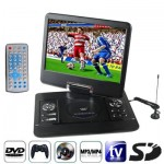 14.5 inch TFT LCD Screen Digital Multimedia Portable DVD with Card Reader & USB Port, Support TV (PAL / NTSC / SECAM) & Game Fun