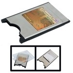 Lecteur de cartes Compact Flash CF vers PC Card PCMCIA - Wewoo