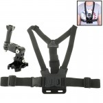 ST-27 B-Model Chest Harness Strap Chest Mount Harness + 3-way Adjustable Base for GoPro HERO4 / 3+ / 3 / 2(Black)