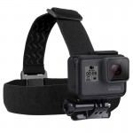 PULUZ Elastic Mount Belt Adjustable Head Strap for GoPro HERO5 /4 Session /4 /3 + /3 /2 /1 /+LCD