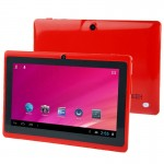 Tablette Tactile rouge Tactile, 7 pouces, 512 Mo + 8 Go, Android 4.0, Allwinner A33 Quad Core 1,5 GHz - Wewoo