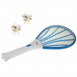 High Quality Rechargeable Electronic Mosquito Swatter with Flash Light, Length: 50cm (Random Color Delivery)