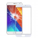 iPartsBuy Meizu MX5 Front Screen Outer Glass Lens(White)