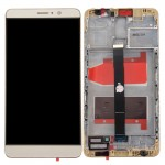iPartsBuy Huawei Mate 9 LCD Screen + Touch Screen Digitizer Assembly with Frame(Champagne Gold)