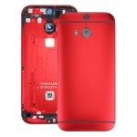 iPartsBuy for HTC One M8 Back Housing Cover(Red)