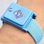 Wireless Anti Static ESD Discharge Cable Band Wrist Strap(Baby Blue)