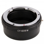 Contax CY Lens to Canon EOS M Lens Mount Stepping Ring(Black)