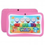 Kids Education Tablet PC, 7.0 inch, 512MB+8GB, Android 5.1 RK3126 Quad Core 1.3GHz, WiFi, TF Card up to 32GB, Dual Camera(Pink)