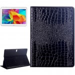 Crocodile Texture Flip Leather Case with Holder for Samsung Galaxy Tab S 10.5 / T800(Black)