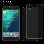 2 PCS for Google Pixel 0.26mm 9H Surface Hardness 2.5D Explosion-proof Tempered Glass Screen Film