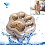 Traceur animaux or pour Pet Imperméable IP66 Anti perte WiFi GSM Smart GPS Tracker Animal de compagnie - Wewoo