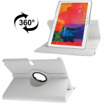 360 Degree Rotatable Litchi Texture Leather Case with 2-angle Viewing Holder for Samsung Galaxy Tab Pro 10.1 / T520 (White)