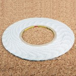 1mm 3M Double Sided Adhesive Sticker Tape for iPhone / Samsung / HTC Mobile Phone Touch Screen Repair, Length: 50m(White)