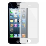 Front Screen Outer Glass Lens for iPhone 5 & 5S(White)