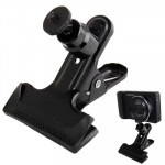 Swivel Clamp Holder Mount for Studio Backdrop Camera(Black)