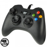 USB 2.0 Dual Shock Vibration Gamepad for PC, Plug and Play, Cable Length: 1.7m