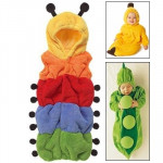 Cute Carpenterworm Style Baby Clothing for Sleeping, Size: 75#