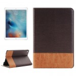 Cross & Sheepskin Texture Horizontal Flip Leather Case with Holder & Card Slots & Wallet for iPad Pro 12.9 inch(Brown)