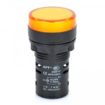 AD16-22D / S 22mm LED Signal Indicator Light Lamp (Yellow)