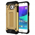 For Samsung Galaxy S6 / G920 Tough Armor TPU + PC Combination Case (Gold)