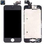 iPartsBuy 4 in 1 for iPhone 5 (Front Camera + LCD + Frame + Touch Pad) Digitizer Assembly(Black)