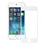 iPartsBuy for iPod touch 5 Front Screen Outer Glass Lens(White)