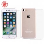 For iPhone 7 Anti-glare Non-full Front + Back Screen Protector(Taiwan Material)
