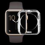 For Apple Watch Series 2 38mm Transparent Soft TPU Protective Case