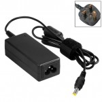 UK Plug AC Adapter 19V 3.42A 65W for Acer Laptop, Output Tips: 5.5x1.7mm